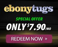 Ebonytugs.com ebony hand job