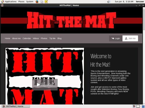 Hitthemat.modelcentro.com Login Ids