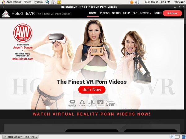 Holo Girls VR Free Acc