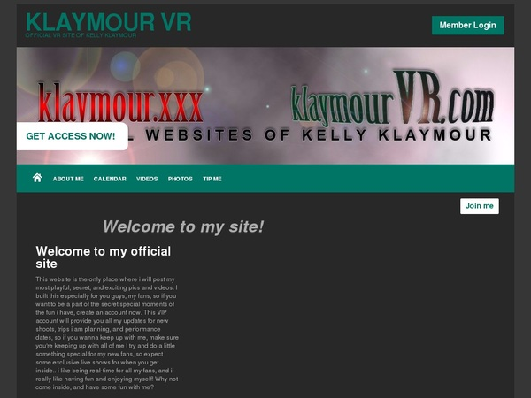 Klaymour VR One Year