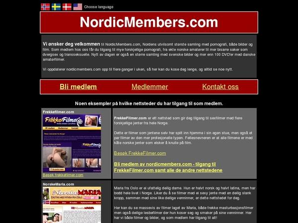 Nordic Members Free User