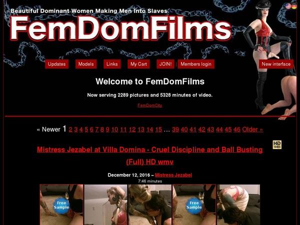 Free FemDom Films Trial Memberships