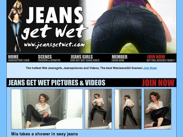 Jeans Get Wet Discounted Deal