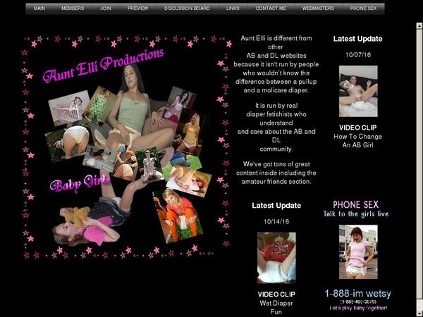 Promo Aunt-elli.com