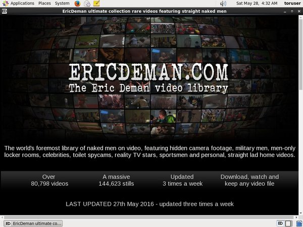 Ericdeman With Bitcoin