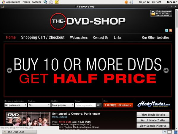 The DVD Shop Discount Links