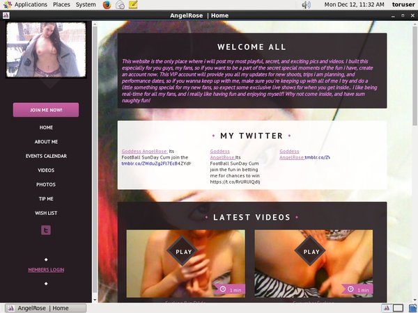 AngelRose Account And Password