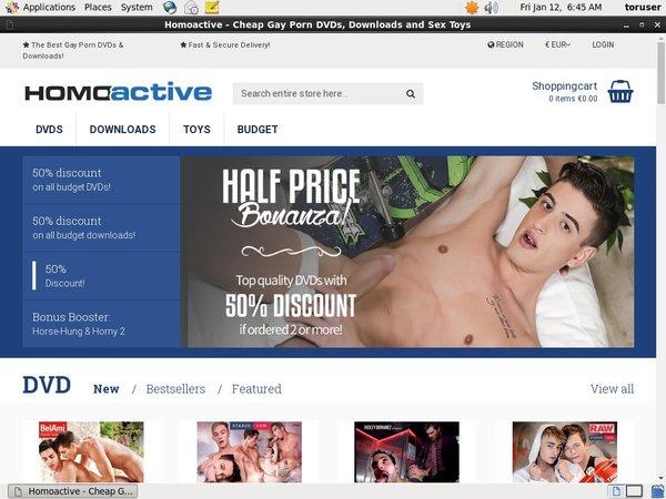 Homo Active Discount Pass