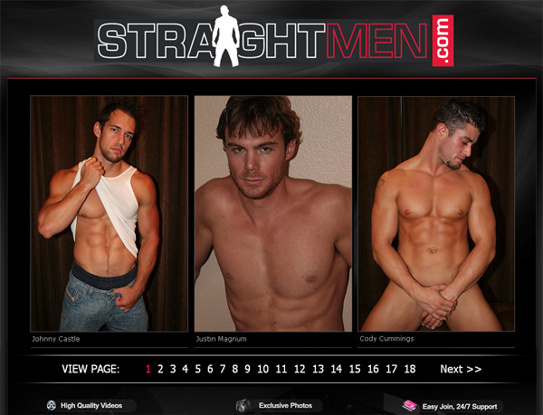 Straight Men With AOL Account