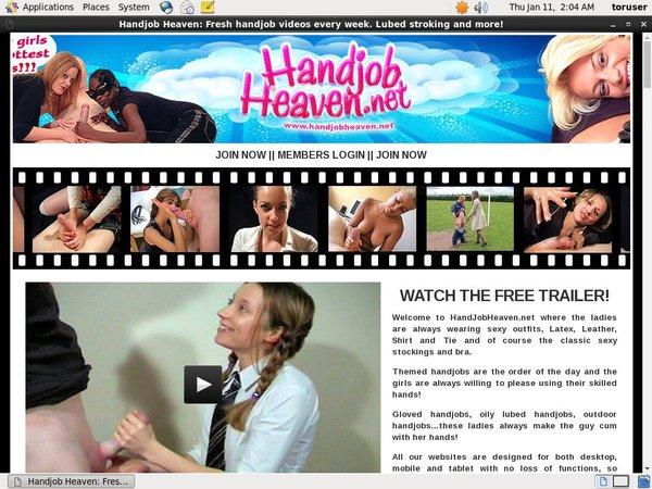 Handjob Heaven Save 50% On 30Day Pass