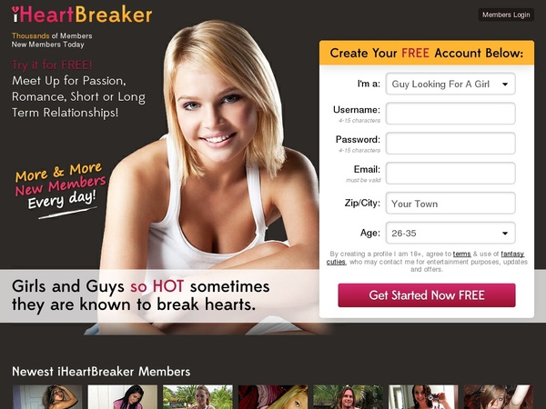 IHeart Breaker Payment Page