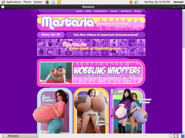 Mastasia.com Discount Signup