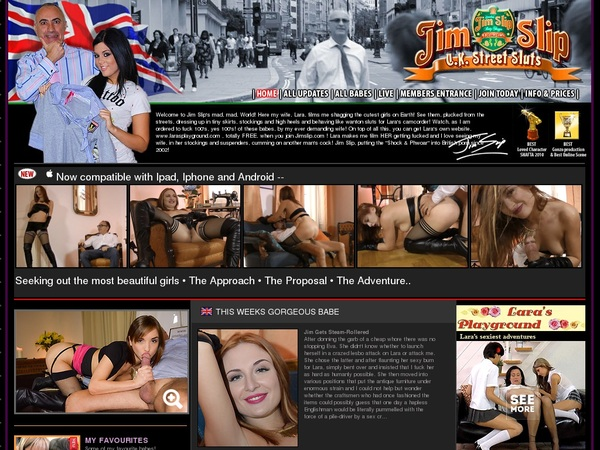 New Jim Slip's Uk Street Sluts Discount Deal