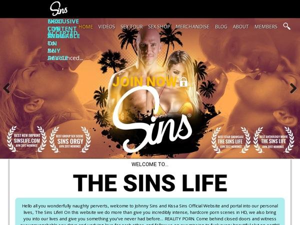 Sins Life Free Sign Up