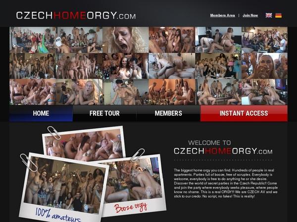 Czech Home Orgy Sex Videos