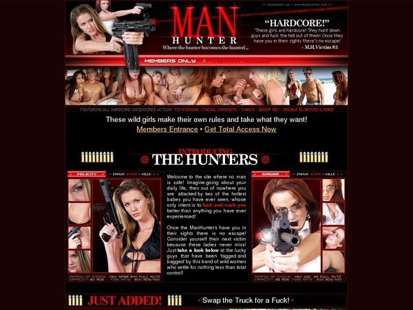 Join Man Hunter Paypal