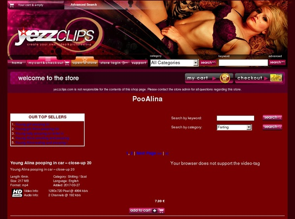 Yezzclips.com Login Account