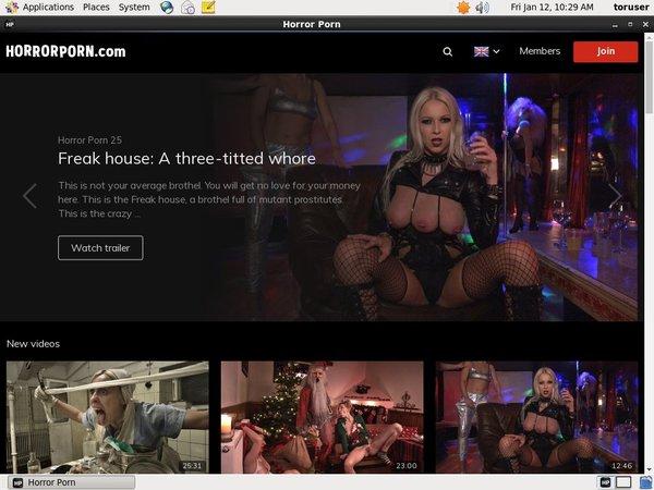 Horror Porn Account Generator 2016