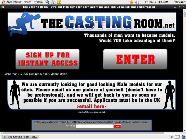 New Thecastingroom Account