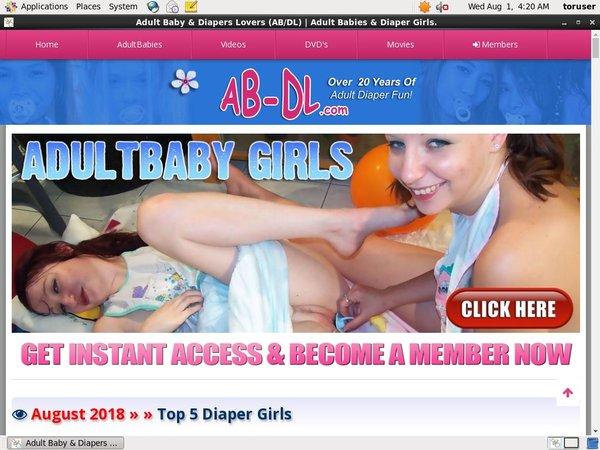 AB/DL User Name