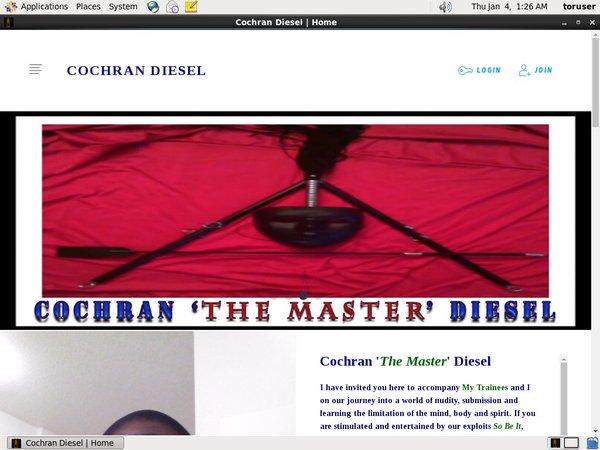 Discount Trial Cochran  Diesel