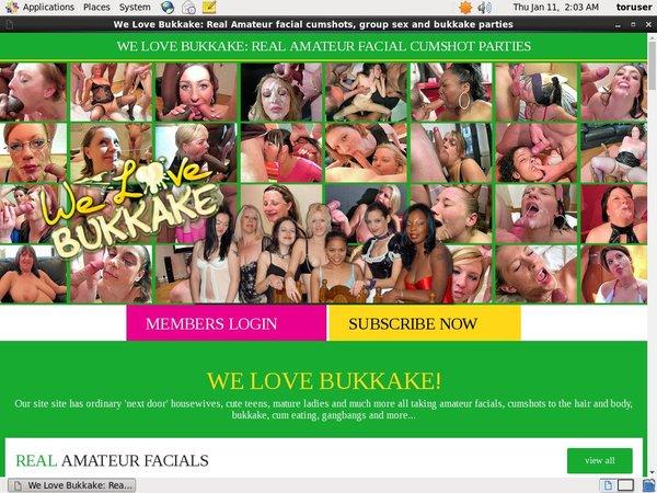 Fre We Love Bukkake Login And Password