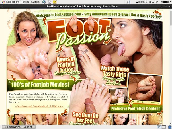 Free Account In Footpassion