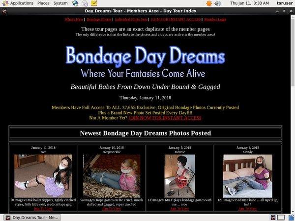Free Bondagedaydreams Discount Trial
