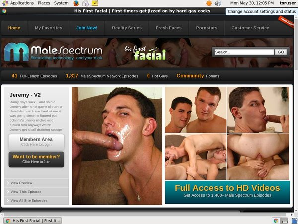 His First Facial Account For Free