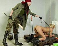 Lesbian Army female army