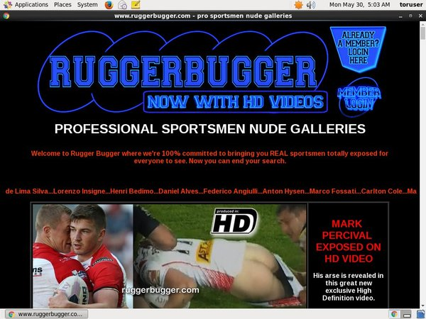 Ruggerbugger.com Euro Direct Debit