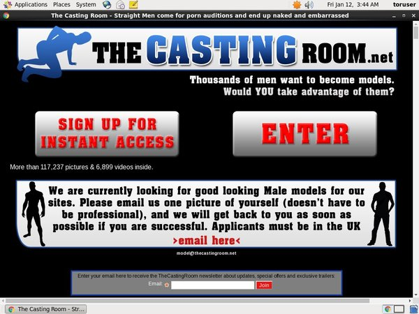 The Casting Room Student