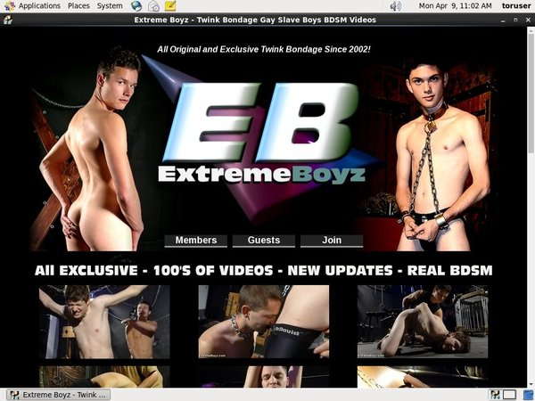 Extremeboyz.com Paypal Options