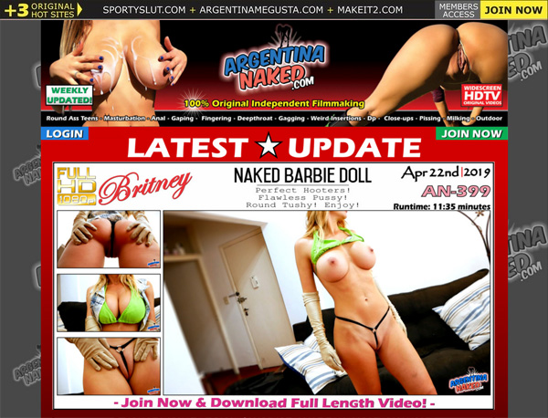 Promo Argentinanaked.com Free Trial