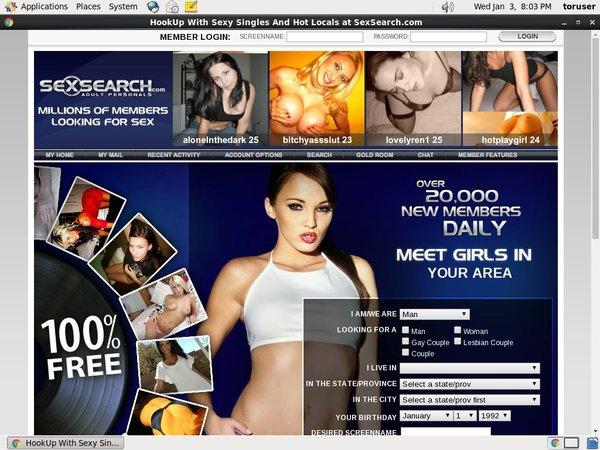 Sexsearch.com Promo Discount