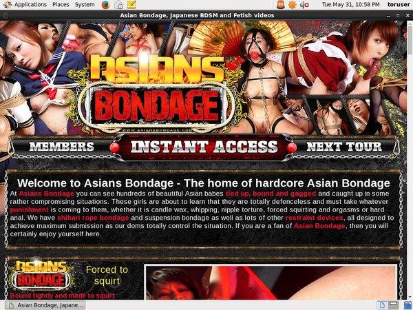 Asians Bondage Premium Password