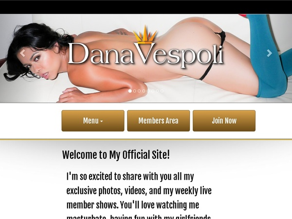 Free Dana Vespoli Discount Offer
