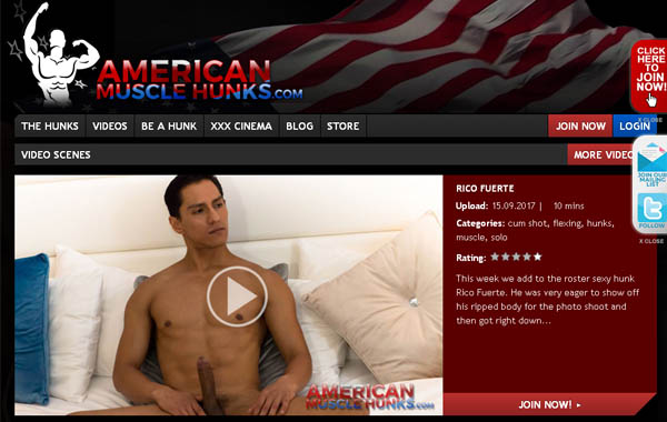 Free Premium Americanmusclehunks.com
