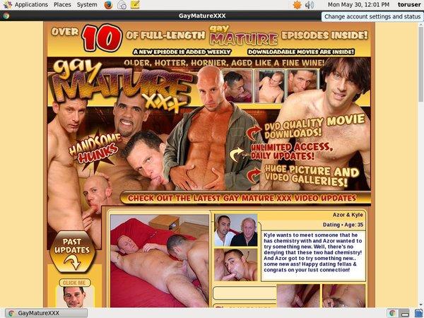 Gay Mature Xxx Blog