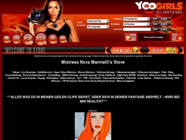 Mistress Nora Marinel Accs