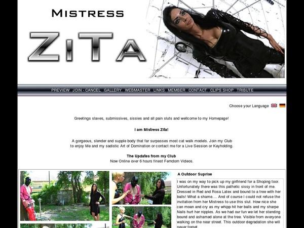 New Free Mistresszita Accounts