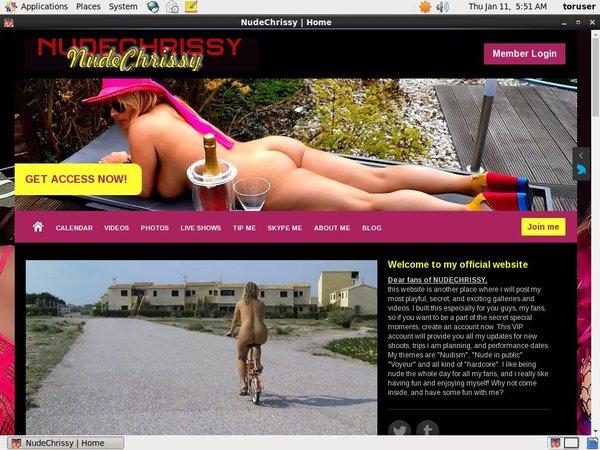 Watch Nudechrissy